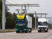 У Німеччині вантажівки стануть тролейбусами