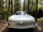 З'явилися нові фото електричного седана від Infiniti