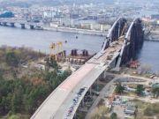 Стало відомо, коли планують запустити автомобільну частину Подільсько-Воскресенського мосту