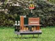 McDonald's открыла самый маленький ресторан