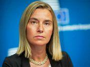 "Могерини прокомментировала спор ""Газпрома"" и ""Нафтогаза"""