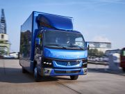 В Европе стартовало производство электрического грузовика Mitsubishi