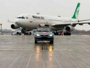 """В аеропорту """"Бориспіль"""" відкрили перший в Україні рейс іранської авіакомпанії Mahan Air"""