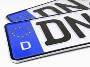 """Кабмін запропонував запровадити реєстрацію авто на """"єврономерах"""""""