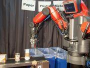 Розроблено робота-утилізатора, здатного розрізняти папір, пластик і метал на дотик (відео)