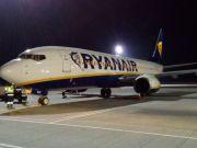 В Борисполе приземлился корпоративный самолет Ryanair