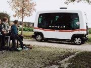 Deutsche Bahn запускає в Баварії безпілотний автобус