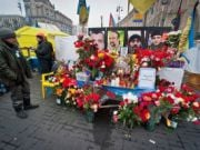 Майдан Независимости сделают зоной памяти по погибшим в столкновениях