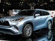 Toyota показала новое поколение Highlander
