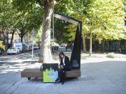 В Лондоне появятся «умные» скамейки Ford