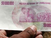 """Долари Зімбабве """"вмерли"""""""