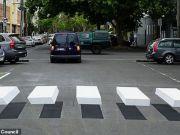 В Мельбурне создали 3D-пешеходный переход