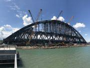Строительство Керченского моста ставит под угрозу поставки чугуна в США