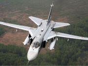 Боевики сбили под Луганском бомбардировщик Су-24М - СНБО