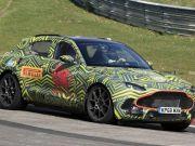 Aston Martin вже тестує свій перший кросовер (відео)
