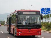 В Китае проходит испытания беспилотный электрический автобус