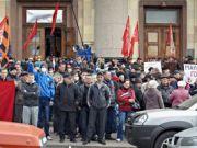"""Дубль 2: сепаратисти заявили про створення """"Харківської народної республіки"""" і звернулися до Януковича"""