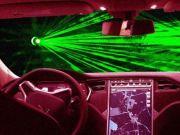 Tesla запатентувала лазерні «двірники» для вітрового скла