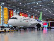 Китайский конкурент Boeing 737 и Airbus A320 совершил первый полет