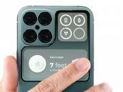Показали iPhone 14 Pro и iPhone 14 Pro Max с квадрокамерой и перископным модулем (фото)
