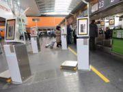 У Борисполі з'явилися кіоски для самостійної здачі багажу