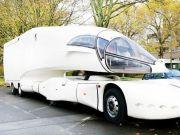 """В Германии продают уникальный грузовик с """"парящей"""" кабиной (фото)"""