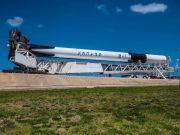 SpaceX провела огневые испытания Falcon 9