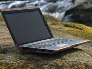 В Ирландии создали ноутбук с деревянным корпусом