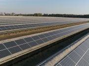 Крупнейшая в Украине СЭС крышного типа увеличила мощность