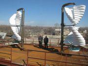Полтавские ученые разработали ветряк, который работает при минимальном ветре