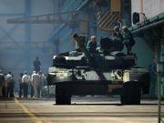 Украина презентовала первый танк «Оплот» для Таиланда