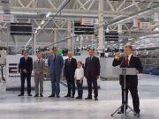 Порошенко открыл в Бродах завод Nexans для BMW