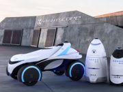 Авто-робо-коп: первый в мире беспилотник для охраны показали на видео