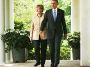 Барак Обама убедил Ангелу Меркель ужесточить наказание для России