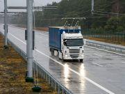 Siemens запустила в США шосе для електровантажівок зі струмоприймачами
