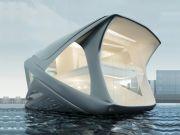 Футуристический дом на воде: польский архитектор представил необычный проект (фото)