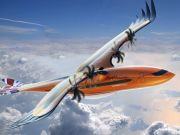 Airbus показала концепт гибридного самолета-птицы (видео)