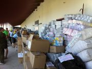 Українська частина міжнародної гуманітарної допомоги - майже 800 тонн - вирушила до Луганська