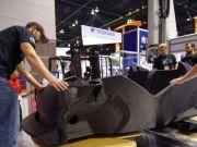 На 3D-принтере впервые начали печатать автомобиль (ВИДЕО)