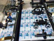 Для ліквідації дефіциту готівки рублів до Криму завезли 250 тонн грошей