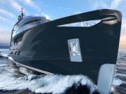 Итальянские дизайнеры представили проект роскошной яхты (фото)