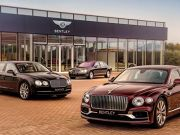 Bentley объявила о рекордных продажах в 2020 году