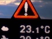 В Латвии устанавливают электронные дорожные знаки