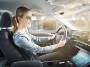 Представлено розумний козирок для авто - Bosch Virtual Visor