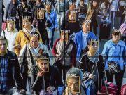 """У Китаї розробили 500-мегапіксельну """"суперкамеру"""", яка може миттєво впізнати людину в натовпі"""
