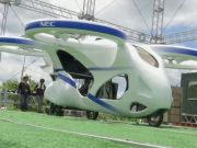 В Японії представили прототип летючого автомобіля (відео)