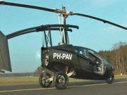 Голландская компания PAL-V выпустила летающий автомобиль (видео)