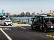 В Нью-Йорке запустили беспилотные автобусы
