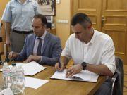 Кличко подписал соглашение с IFC по развитию скоростного транспортного коридора на Троещину