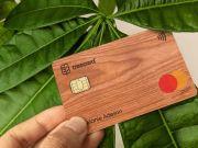 Ecosia инвестировала более миллиона долларов в деревянные платежные карты